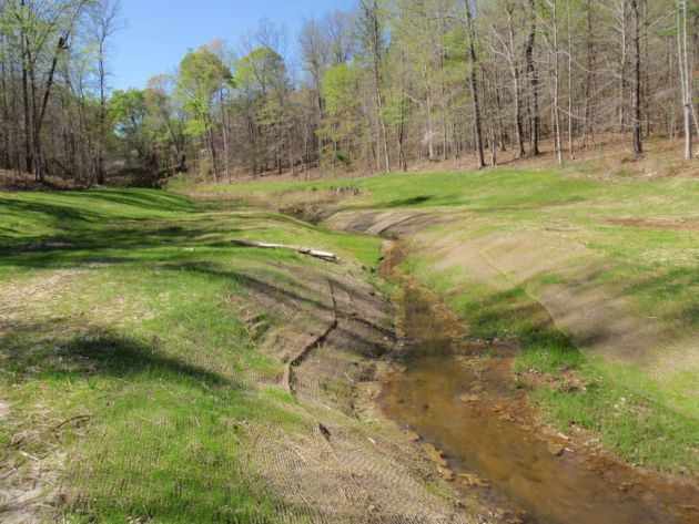 Stream Mitigation of Construction Impacts